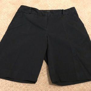 Talbots Black Shorts - Size 10 Petite